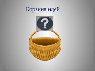 Корзина идей МАОУ многопрофильный лицей, 2014