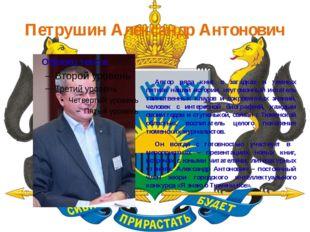 Петрушин Александр Антонович Автор ряда книг о загадках и темных пятнах наше