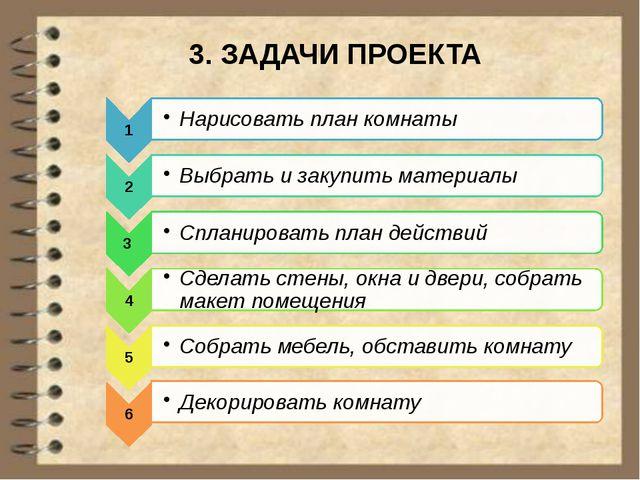 3. ЗАДАЧИ ПРОЕКТА