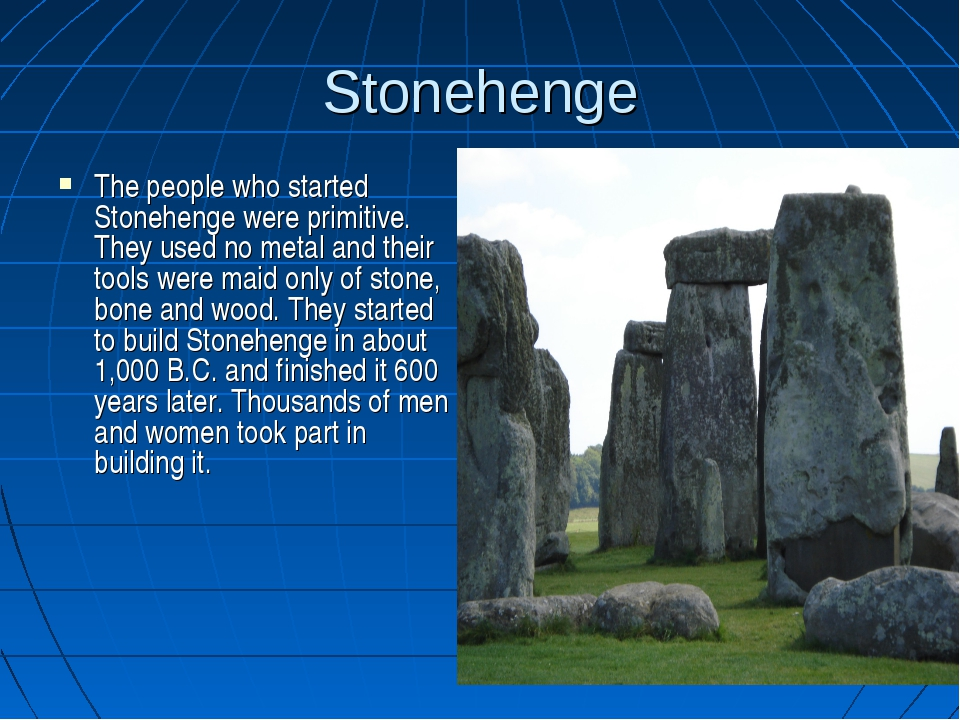 a synopsis on why the stonehenge was built This is why the ndc network was built in the stonehenge environs during the lucifer rebellion as usual the simple explanations of 'ancestor worship' and processional calenders spoon fed to us by the controlled archaeological community have been perpetrated to keep our #hiddenhistory hidden.