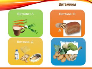 Витамин А Витамин В Витамин С Витамин Д Витамины