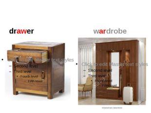 drawer wardrobe