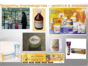 Продукты пчеловодства – ценятся в медицине