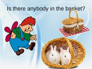Is there anybody in the basket?