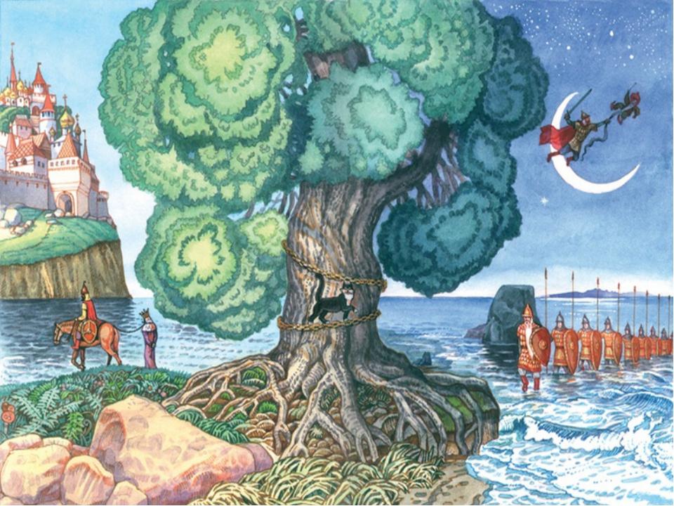 Картинки к сказкам пушкина для детей дошкольного