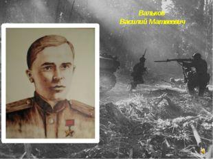 Вальков Василий Матвеевич