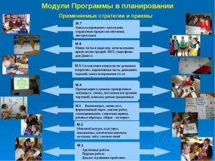 Модули Программы в планировании М1. Новые подходы в преподавании и обучении.