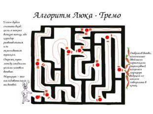 Алгоритм Люка - Тремо Узлом будем считать вход, цель, а также всякую точку, г