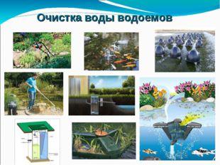 Очистка воды водоемов