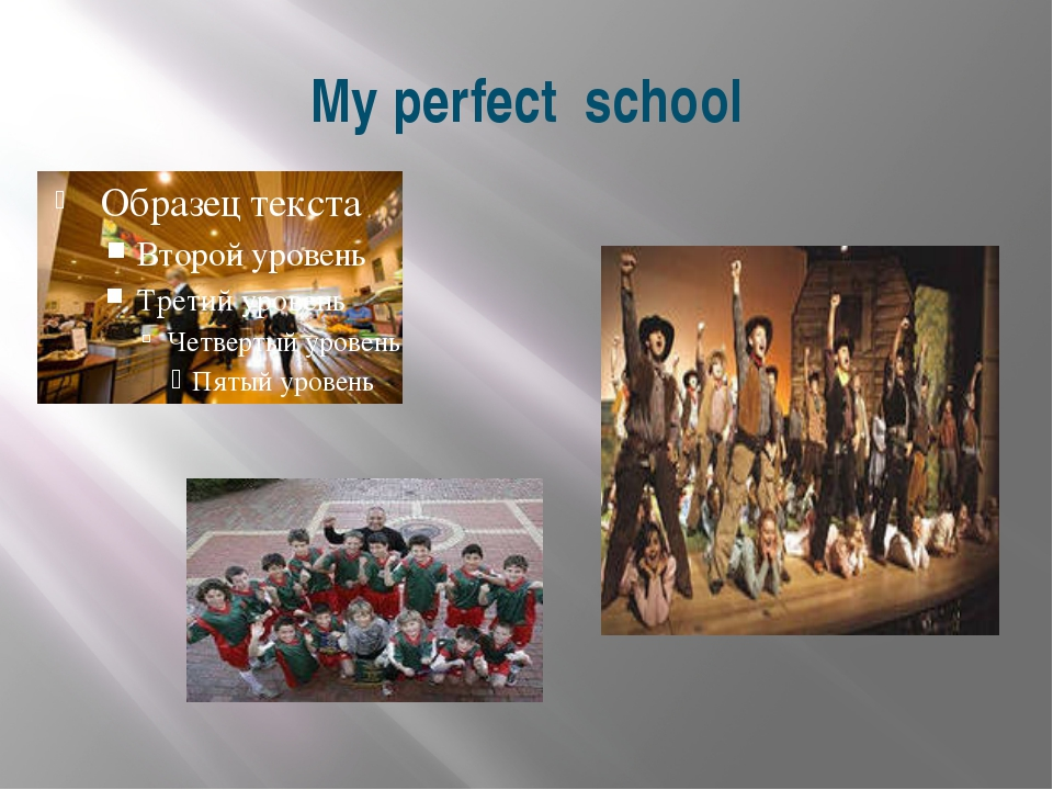My perfect school Good morning! I'm glad to see you. Who is on duty today? Wh...