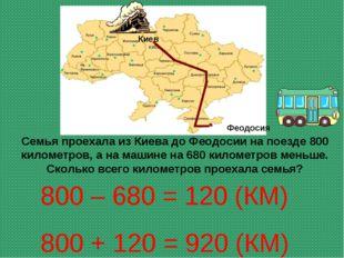 Семья проехала из Киева до Феодосии на поезде 800 километров, а на машине на