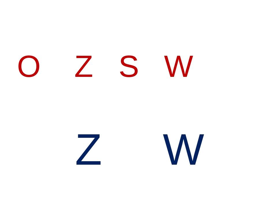 Z W O Z S W