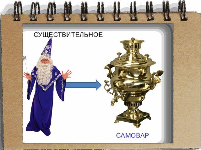СУЩЕСТВИТЕЛЬНОЕ САМОВАР САМОВАР