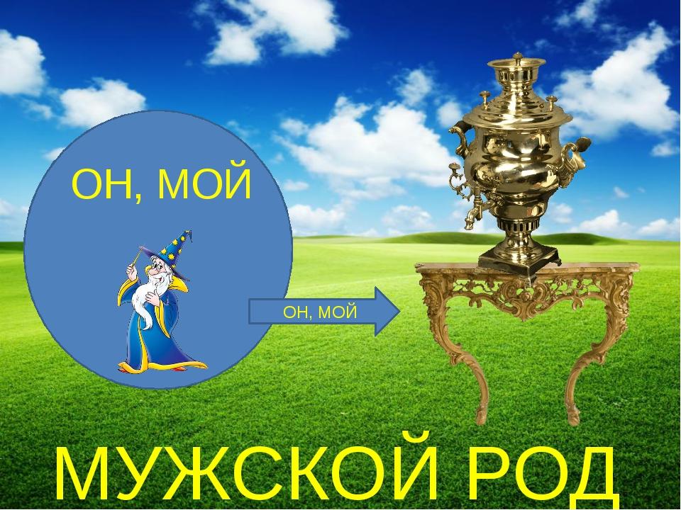 ОН, МОЙ МУЖСКОЙ РОД ОН, МОЙ МУЖСКОЙ РОД