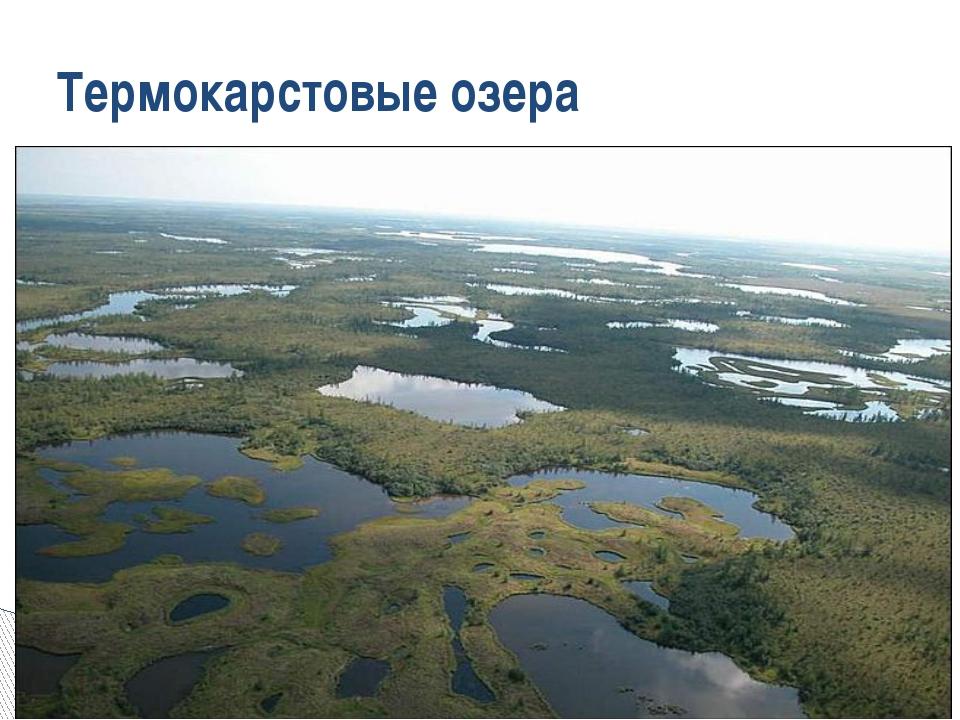 Термокарстовые озера