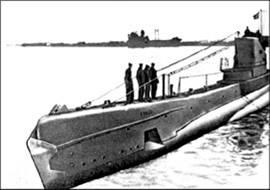 Советская подводная лодка типа «Щука» времен Великой Отечественной войны