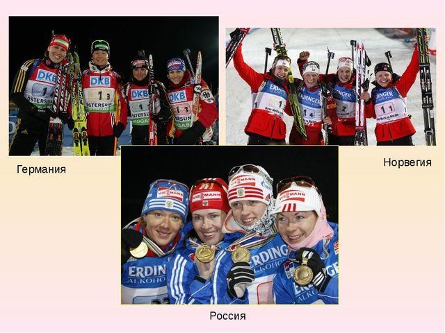 Германия Норвегия Россия
