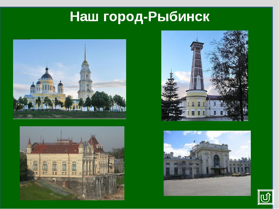 Наш город-Рыбинск