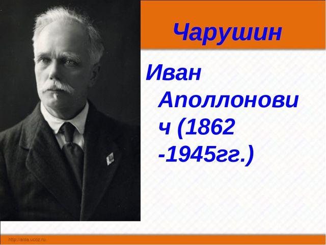 Чарушин Иван Аполлонович (1862 -1945гг.)