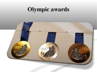 Olympic awards