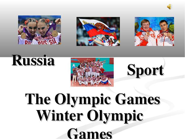 Russia Sport Winter Olympic Games The Olympic Games