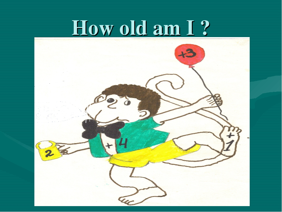 How old am I ?