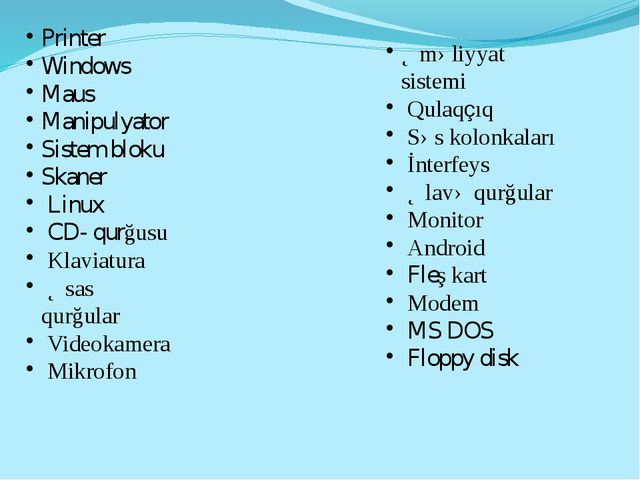 Printer Windows Maus Manipulyator Sistem bloku Skaner Linux CD- qurğusu Klavi...