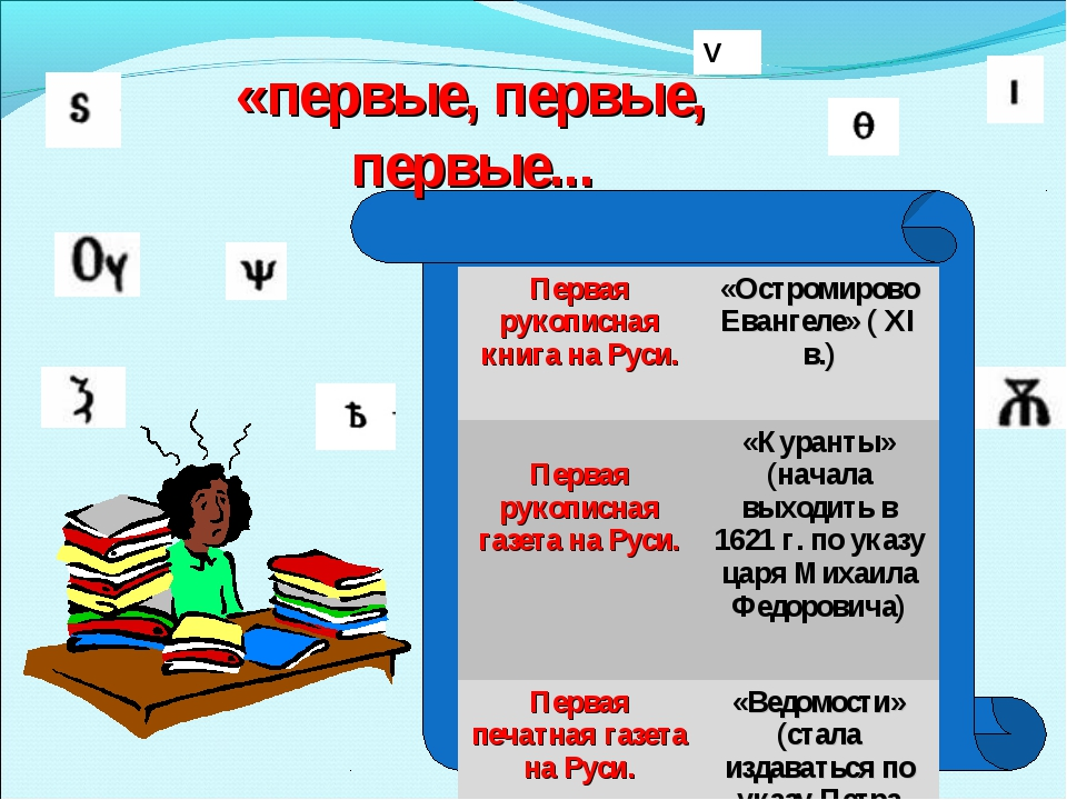 V «первые, первые, первые... Первая рукописная книга на Руси.«Остромирово Е...