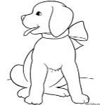 Описание: Проходной балл. собачка раскраска для детей Поступаем вместе. Форум
