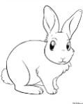 Описание: Проходной балл 2014 рисунок зайца для раскрашивания Поступаем вместе!