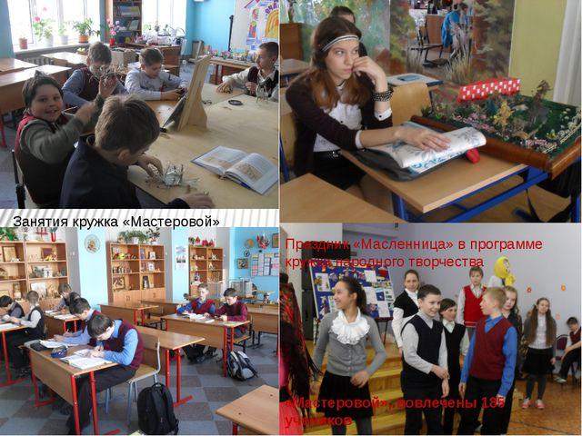Занятия кружка «Мастеровой» Праздник «Масленница» в программе кружка народног...