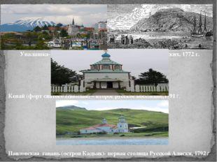 Кенай (форт святого Николая) – второе русское поселение,1791 г. Павловская га