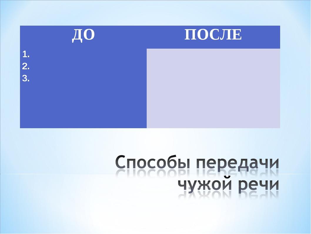 ДОПОСЛЕ 1. 2. 3.