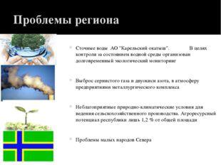 """Проблемы региона Сточные воды АО """"Карельский окатыш"""". В целях контроля за сос"""