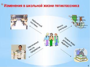 Много учителей Новые виды домашних заданий Увеличения числа предметов Кабине
