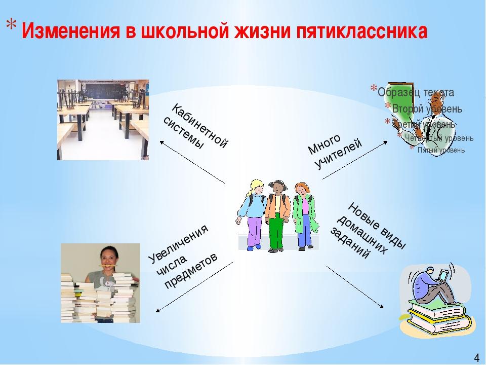 Много учителей Новые виды домашних заданий Увеличения числа предметов Кабине...