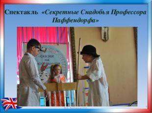 Спектакль «Секретные Снадобья Профессора Паффендорфа» * М.В. Вербицкая-2014
