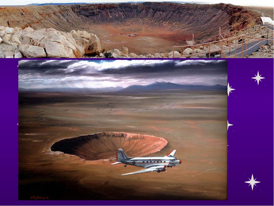 ЭТО ИНТЕРЕСНО! Один из самых больших метеоритных кратеров находится в США в ш...