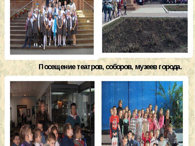 Посещение театров, соборов, музеев города.