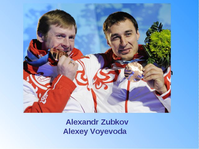 They won two gold medals in bobsleigh (two-man and four-man). What are their...