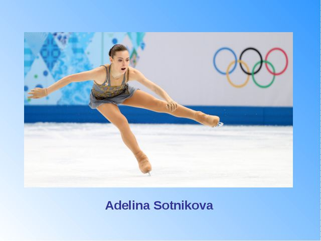 She won gold medal in figure skating (Ladies' singles) What is her name? Adel...