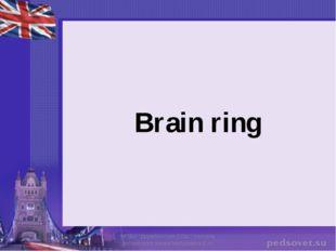 "Brain ring МОБУ ""Дружбинская СОШ"" Учитель английского языка Матушкина Е.Н."