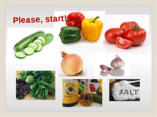 Please, start!
