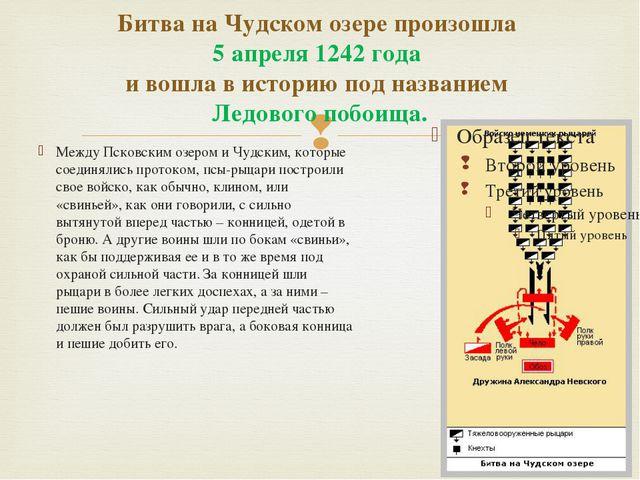 Битва на Чудском озере произошла 5 апреля 1242 года и вошла в историю под наз...