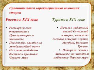 Россия в XIX веке Расширила свои территории в Причерноморье, в Закавказье Пов