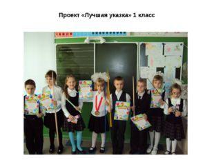 Проект «Лучшая указка» 1 класс