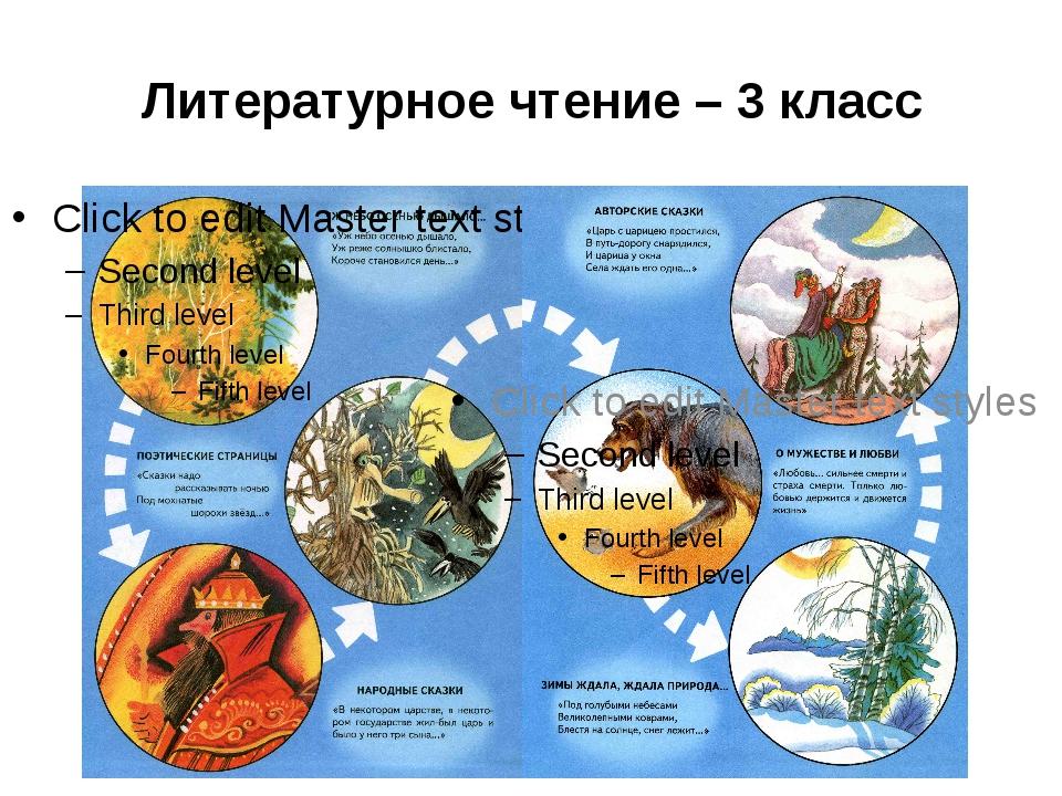 Литературное чтение – 3 класс