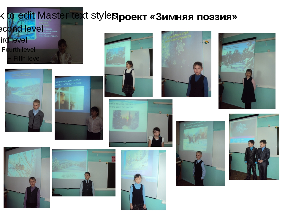 Проект «Зимняя поэзия»