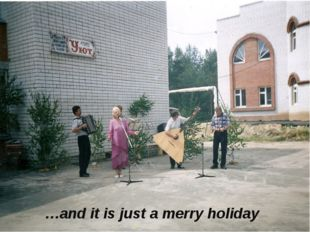 …and it is just a merry holiday