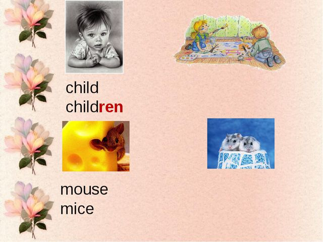 child children mouse mice